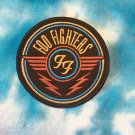 "Foo Fighters Embroidered Iron on Patch 3""x3"""