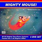 Mighty Mouse Cartoons DVD All 65 TerryToons 2 Archive Grade DVDs