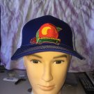 Allman Brothers Eat A Peach Royal Blue Trucker Snapback Hat