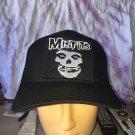 Misfits Black Trucker Snapback Hat