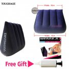 Sex Pillow Wedge Ramp Position Triangle Soft Inflatable Cushion Love Portable