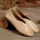 Round Toe Loafer Flat Shoes