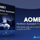 AOMEI Partition Assistant Professional, 2PCs, Current Version, Authorised Seller