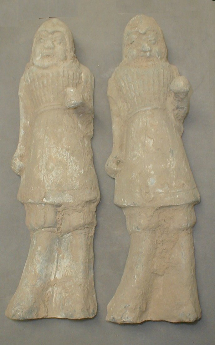 Northern Wei Clay Tomb Soldiers