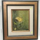 Mid-century still life oil on panel signed Cien