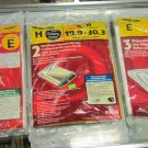 Shop-vac Disposable filter bags type E type H
