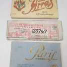 French Souvenir Cartes Detachables Antique postcards, Republica de Cuba Loteria
