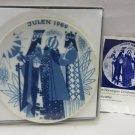 PORSGRUND - NORWAY JULEN 1969 Three Kings Plate