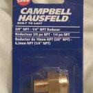 "CAMPBELL HAUSFELD 3/8 NPT - 1/4"" Reducer PA1114"