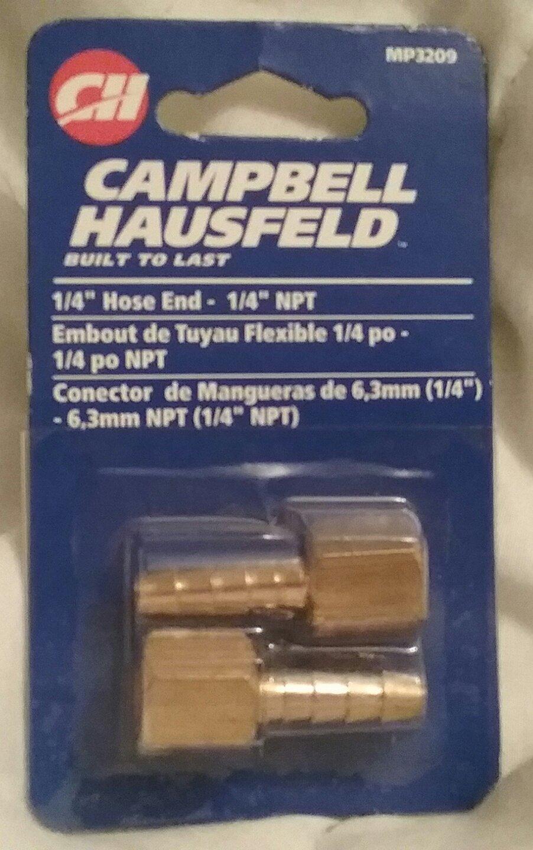 "CAMPBELL HAUSFELD 1/4"" HOSE END - 1/4"" NPT MP3209"