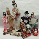 Assorted Asian dolls collection