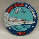 Pay n Pak Turbine 1981 hydroplane pin