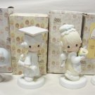 Four Precious Moments Figures - E4721, E7154, 521000, C0012