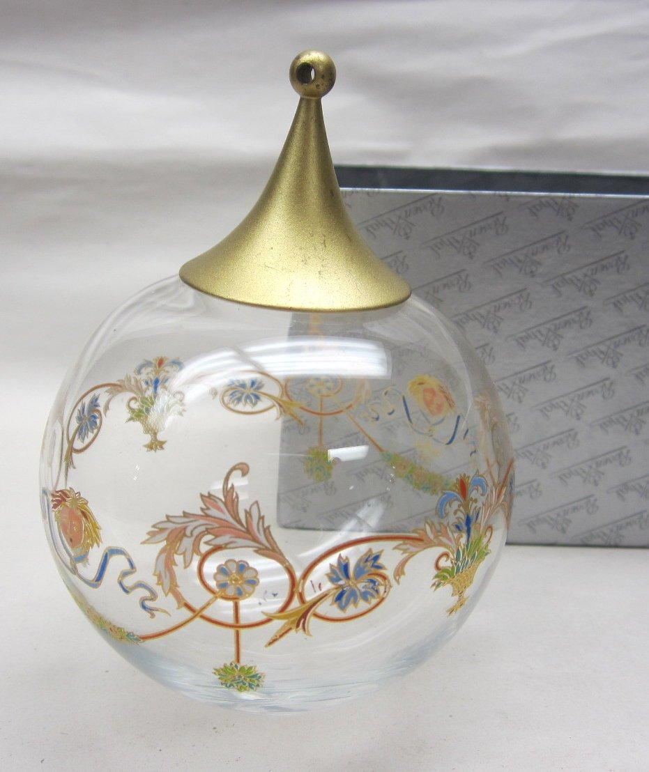 KUGEL GLASS ORNAMENT 110247 WEIHNACHTSKLANGE #49766
