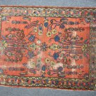 Distressed hand made Persian Rug - has hole in the middle