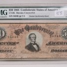 $50 1864 Confederate States Of America Havana Counterfeit