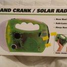HAND CRANK / SOLAR RADIO