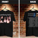 A Perfect Circle tour dates 2017-18 black two side code06