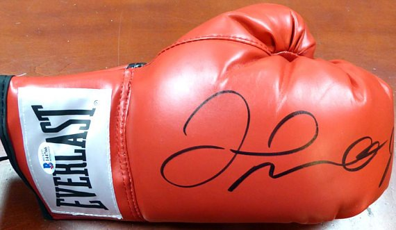 Floyd Mayweather Jr. Signed Autographed Everlast Boxing Glove Beckett