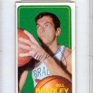 Bill Bradley New York Knicks Autographed Signed 1970 Topps Card PSA