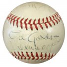 1948 New York Giants NL Team Signed Autographed NL Baseball PSA