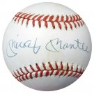 Mickey Mantle New York Yankees Signed Autographed AL Baseball PSA