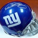 Odell Beckham Jr. Autographed Signed New York Giants Mini Helmet BECKETT