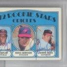 Don Baylor & Johnny Oates Baltimore Orioles Signed Autographed 1972 Topps Rookie Card PSA