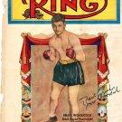 Bruce Woodcock British Boxer Autographed Signed Vintage Ring Magazine Cover PSA
