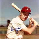 Richie Ashburn Philadelphia Phillies Signed Autographed 8x10 Photo BECKETT
