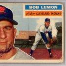 Bob Lemon Cleveland Indians Signed Autographed 1956 Topps Card PSA