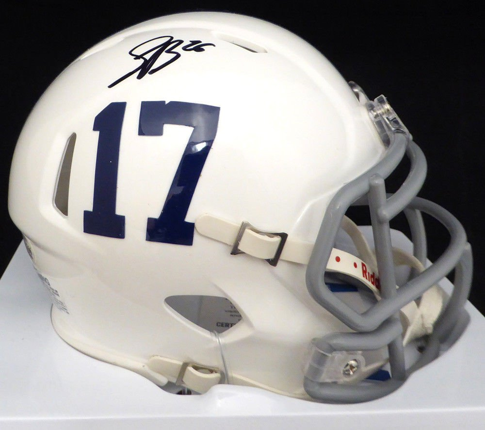 Saquon Barkley Autographed Signed Penn State Speed Mini Helmet BECKETT