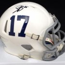 Saquon Barkley Autographed Signed Penn State Speed Mini Helmet BECKETT