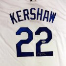 Clayton Kershaw Signed Autographed Los Angeles Dodgers Jersey PSA/DNA