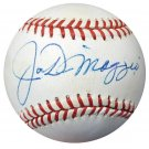Joe DiMaggio New York Yankees Signed Autographed AL Baseball PSA