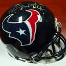 JJ Watt Autographed Signed Houston Texans Mini Helmet PSA
