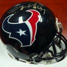 J.J. JJ Watt Autographed Signed Houston Texans Mini Helmet PSA
