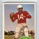 Y.A. Tittle San Francisco 49ers 1960 Topps Card PSA 7