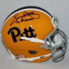 Tony Dorsett Signed Autographed PIttsburgh Panthers Schutt Mini Helmet JSA