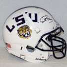 Odell Beckham Jr. Giants Autographed Signed LSU Tigers Full Size Authentic Schutt Helmet JSA