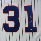 Greg Maddux Signed Autographed Chicago Cubs Cooperstown Jersey MLB COA