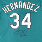 Felix Hernandez Signed Autographed Seattle Mariners Jersey MLB COA