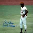 Al Oliver Signed Autographed 8x10 Pittsburgh Pirates World Series Photo PSA