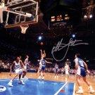 Christian Laettner Autographed Signed Duke Blue Devils 8x10 Photo PSA