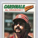 Al Hrabosky St. Louis Cardinals Signed Autographed 1977 Topps Card PSA/DNA