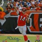 Andy Dalton Cincinnati Bengals Signed Autographed 8x10 Photo JSA