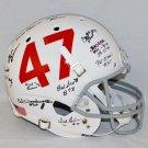 1950s Oklahoma Sooners Autographed Signed Full Size Helmet JSA