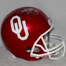 Adrian Peterson Autographed Signed Oklahoma Sooners Full Size Helmet JSA