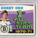 Bobby Orr Boston Bruins Autographed Signed 1971 O-Pee-Chee Card PSA