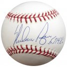 Nolan Ryan Astros Mets Rangers Signed Autographed Official MLB Baseball RYAN COA